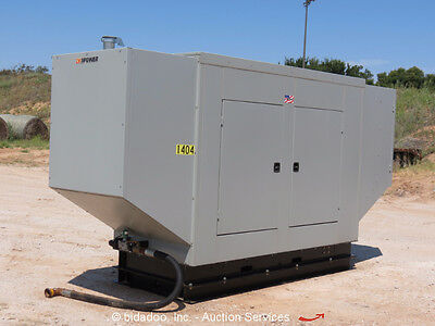 2014 CK Power 466 Special 130kW Generator 3 Phase Natural Gas / LPG Skid Mounted
