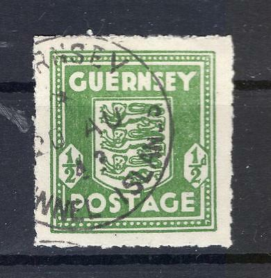 Channel islands GUERNSEY 1c color! postmarked BPP (R7992