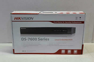 Hikvision DS7604NI-E1/4P Linux Embedded Security NVR