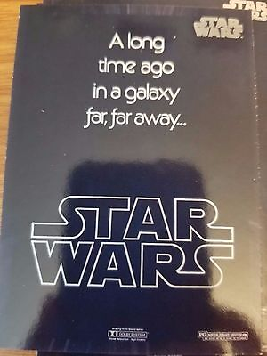 2017 Star Wars 40th Anniversary #131 Star Wars Theatrical Poster Typography