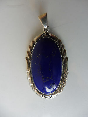 Very nice,old pendants__925 Silver__with Lapis Lazuli__6cm__