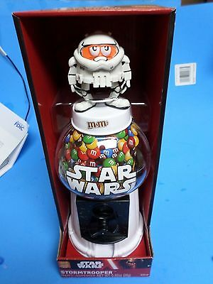 Star Wars, Storm Trooper, M&m Candy Dispenser, Brand New Nrfb