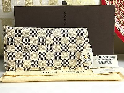 Auth LOUIS VUITTON Sunglass MM Case Damier Azur Canvas - SOLD OUT