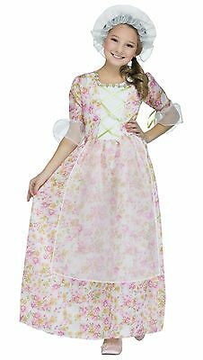 Child Colonial Lady Girls Costume
