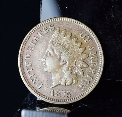 1875 Indian Head Cent - XF Details