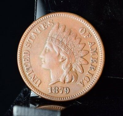 1879 Indian Head Cent - XF Details