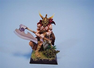 Confrontation painted miniature Drune Persecutor