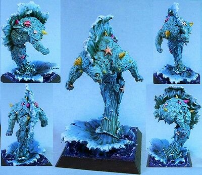 Confrontation painted miniature Water Elemental