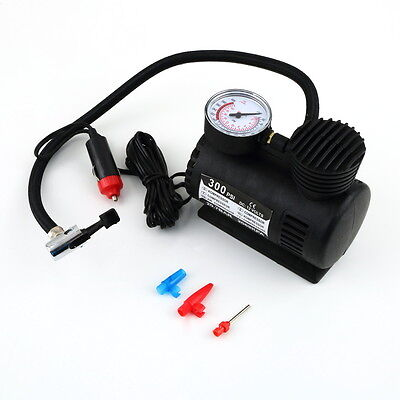 Portable 12V Auto Car Electric Air Compressor Tire Infaltor Pump 300 PSI HT