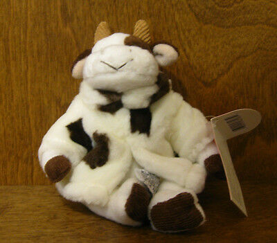 """Russ Berrie #100645 MOOELLA, NEW with tag From Retail Store, 7"""" COW"""