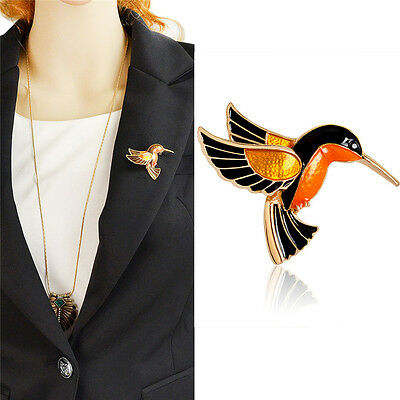 Women Girls Bird Design Brooch Party Wedding Bridal Brooches Badge Pin Jewelry