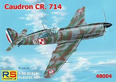 RS MODELS 48004 Caudron CR.714 C-1 in 1:48