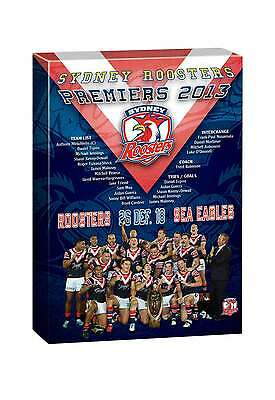 NRL TEAM Sydney Roosters Past Premiers Player Image Canvas Christmas Father Gift