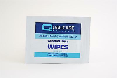 Qualicare Alcohol Free Wound Cleaning Wipes (Box of 100)