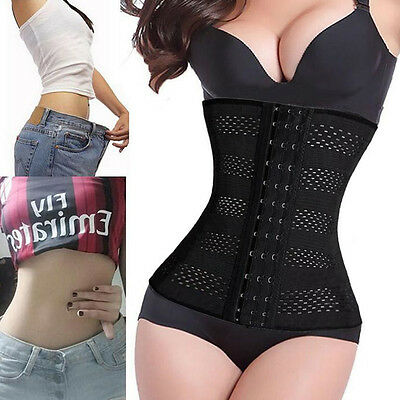 Slimming Body Waist Shaper Training Trainer Tummy Tight Cincher Girdle Corset HT