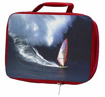 Wind Surfer Insulated Red Lunch Box, SPO-WS2LBR