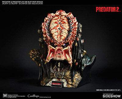 Sideshow Cool Props Predator 2: Life Sized Bust Prop Replica 1:1 Büste