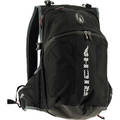 Richa Top Helmet Rucksack Black Bag Back Pack Motorcycle Scooter Luggage Daysack