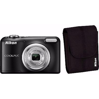 Nikon COOLPIX A10 Digitalkamera Kit schwarz