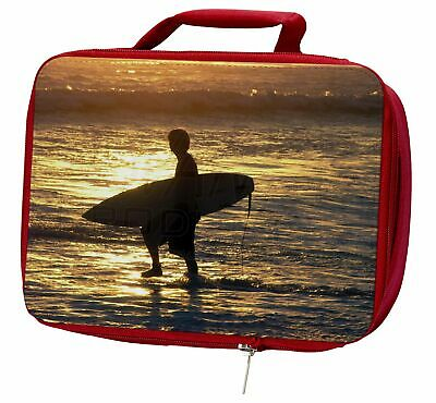 Sunset Surf Insulated Red Lunch Box, SPO-S2LBR