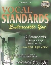 AEBERSOLD 113 Embraceable You ballads Book/CD