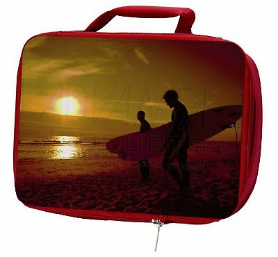 Sunset Surf Insulated Red Lunch Box, SPO-S1LBR