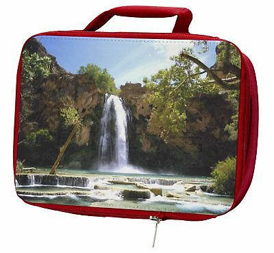 Waterfall Insulated Red Lunch Box, W-1LBR