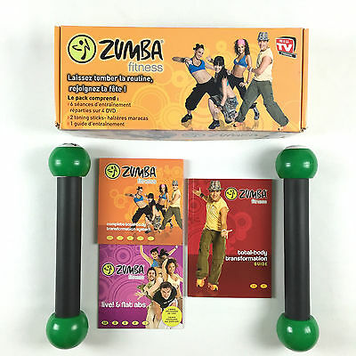 Gross//coffret Zumba Fitness 4 Dvd + 2 Alteres  + Guide En Tbe