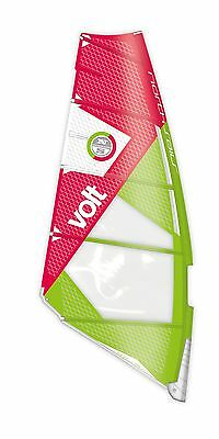 North Sails Windsurf Segel Volt Random green-red 2016 - Größe: 5,9 qm