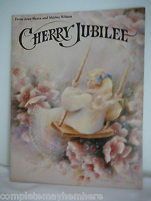 Cherry Jubilee from Jean Myers and Shirley Wilson tole painting tips hints