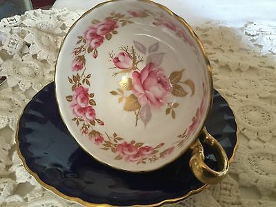 Aynsley Bone China Pedestal Cup And Saucer  England   30