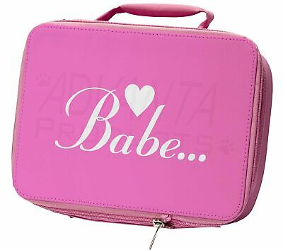 Gorgeous Hot Pink 'Babe' Insulated Pink School Lunch Box Bag, BABE-1LBP