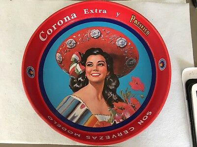 Plateau Corona Extra Pin Up Girl Biére Mexicaine
