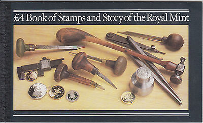 Great Britain Sc BK147 intact booklet. 1980 Royal Mint Booklet w/ 4 Machin Panes