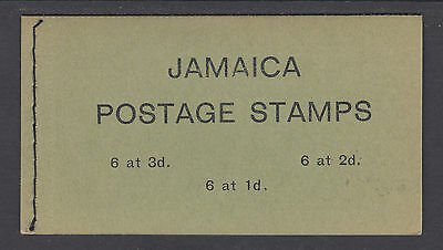 Jamaica SG SB15 unexploded 1965 3sh intact booklet, VF