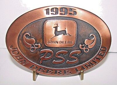 1995 John Deere Australia PSS Pro Selling Skills Training Belt Buckle Ltd Ed #1