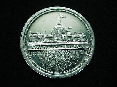 1893 Columbian Exposition Medal not listed in So Called Dollar or Eglit catalogs