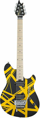 EVH Wolfgang Special - Black, Yellow Stripes