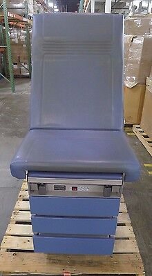 Ritter 104-037-202 Blue Exam Table w/ Stirrups & Drawers USED