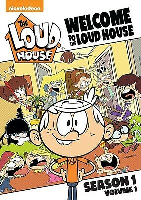 Welcome To The Loud House: Season 1 - Vol 1 - 2 DISC SET (2017, DVD New)