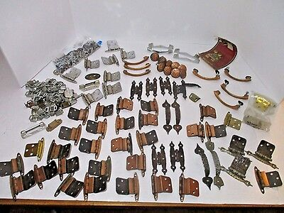 HUGE LOT OF Vintage Drawer -Cabinet Pulls Handles Knobs Latches Hardware Lot