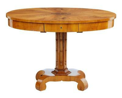 19Th Century Scandinavian Elm Center Table