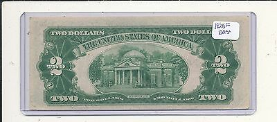 1928f $2 red seal note