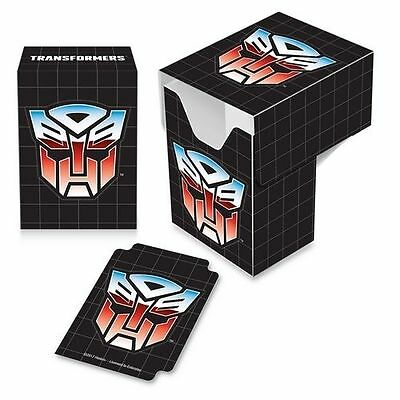Ultra Pro Gaming Card Full View Deck Box Transformers Autobots with Divider