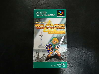 Legend of Zelda 3 Super Famicom/SNES JP GAME.