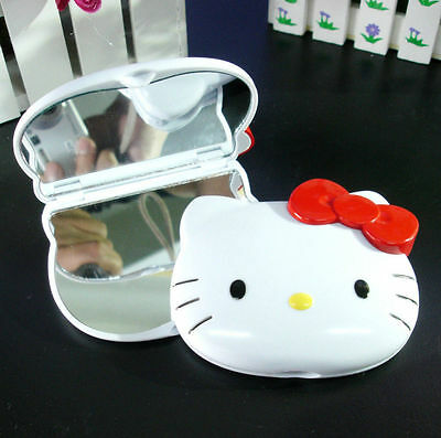 New HelloKitty Bling Compact two-sided mirror Cosmetic / Make Up Mirror AA-F807