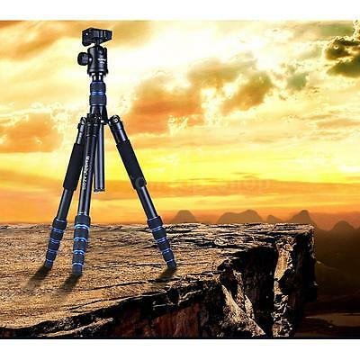 Portable DSLR Camera Tripod Unipod Monopod for Canon Nikon with Ball Head N5R7