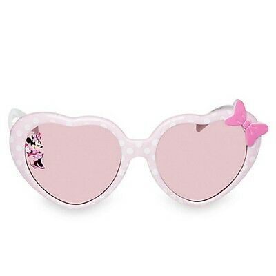 Authentic Disney Minnie Mouse Sunglasses For Girls 100% Uv Protection Upf 50+ Nw