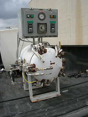 American Autoclave Vacuum Chamber Natl. Bd. No. 2911