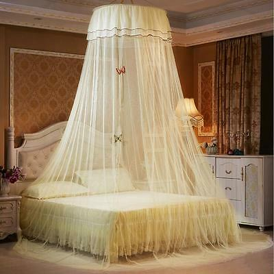 Princess Lace Bedding Mosquito Netting Canopy For Single Double King Bed Size